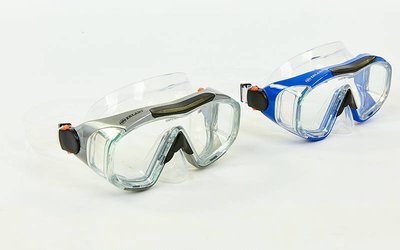 Маска для плавания Zelart M162-SIL термостекло, силикон, пластик