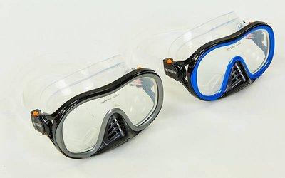 Маска для плавания Zelart M171-SIL термостекло, силикон, пластик