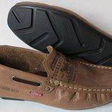 Новинка от Levis мокасины Натуральная кожа Левис летние туфли Levi Strauss 90-07