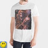 Новая футболка BK elvis р. L. сток, череп, скелет