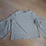 свитер кофта пуловер рр М L серая женская фирменная оригинал Marks&Spencer Маркс и Спенсер