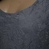 44-46 гипюровое платье, нарядное платье, платье без рукавов, платье 44-46 размер, трикотажное платье