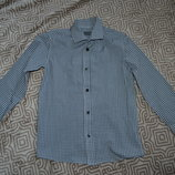 новая рубашка мальчику Flipback на 8 лет рост 128 Англия