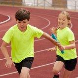 Детские спортивные футболки. Полиэстер.