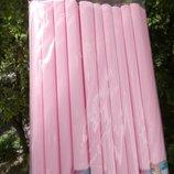 Бумага креповая розовая пудра гофрированная цветная гофро папір кольор гафрований креповий креп