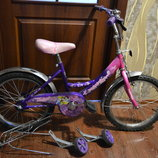 велосипед для девочки princess 18