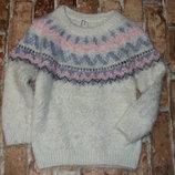 кофта травка YD 4 - 5 лет свитер нарядный девочке большой выбор одежды 1-16лет