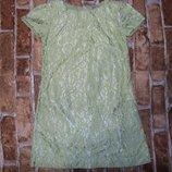 платье нарядное кружевное 8лет большой выбор одежды 1-16лет