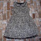 платье нарядное Сток 7-8лет большой выбор одежды 1-16лет