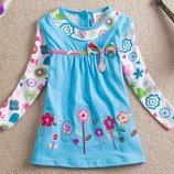 Стильное летнее платье Два цвета
