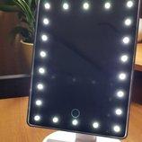 Зеркало с подсветкой LED Smart Touch Mirror настольное