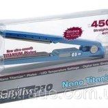 Утюжок для волос Babyliss PRO Nano Titanium 450F плойка выпрямитель