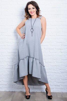 5705a4633f3 Длинное легкое женское платье - сарафан 42-60р  450 грн - сарафаны в ...