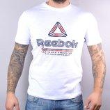 Футболка мужская Reebok Ultimate белая хлопковая
