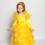 Продам нарядное платье Солнышко