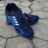 Мужские кроссовки синие 41-46р сетка