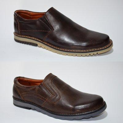 Замечательные туфли-мокасины из натуральной кожи