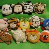 Свинка.слон.утка.лев.овца.ананас.мягкая игрушка.мягка іграшка.мягкие игрушки.Keel Toys.Bobballs