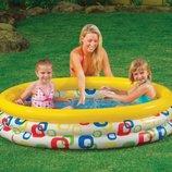 Надувной детский бассейн Intex 58439 Геометрические узоры