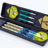 Дротики для игры в дартс цилиндрические 3501 в футляре 3 дротика в комплекте