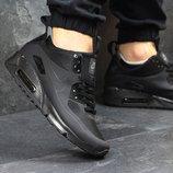 Топ качество. Бесплатная доставка. Nike Air Max 90 Ultra Mid черные KS 228