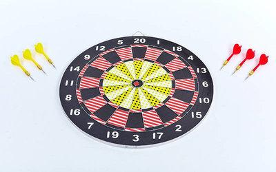 Мишень для игры в дартс Baili 67325 диаметр 43см, 6 дротиков