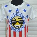 Трикотажные футболки с красивым рисунком для мальчиков, Размеры 98-128