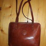 Сумка огиринал I Ponti genuine leather. Made in Italy. Кожа высота - 27 см., длина - 37 см., ширина