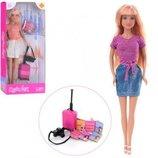 Кукла Defa Lucy 8377 с вализой