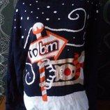 новогодний свитер унисекс
