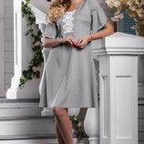 Платье длиной чуть выше колена 964