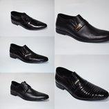Стильные классические туфли из натуральной кожи