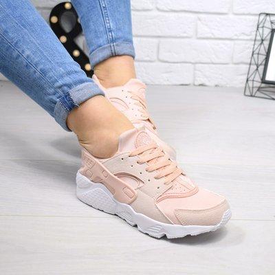 Женские кроссовки Nike Huarache пудра