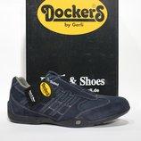 Шикарні шкіряні кросівки-снікери Dockers by Gerli, Німеччина-Оригінал