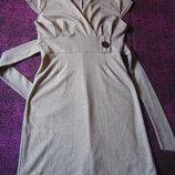Платье из плотного трикотажа. р. 44-46.