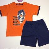 Пижама детская на мальчика Natural Club 2-3, 5-6, 6-7,7-8 лет, рост 98,110,116,122,128