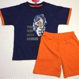 Пижама детская на мальчика Natural Club 3-4, 5-6,7-8,10-11 лет, рост 104,116,128,134,146