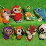 Звери.yoohoo and friends.игрушка.мягкие игрушки.мягка іграшка.McDonald's.