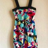 Сарафан креативной расцветки George платье, размер S-M