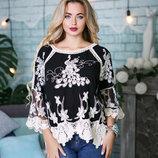 Блуза из хлопка 42,44,46,48 размеры