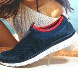 Кроссовки мужские в стиле Nike Free Run 5.0 синий 41р-46р