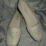Балетки кожаные footglove 36-37 размер