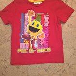 Новая футболка для мальчика красного цвета.ТМ Packman