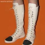 Крутые дизайнерские сапоги Gianni Barbato р.38,5 Италия