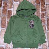 кофта начос капюшонка Зара 2 - 3 года мальчику большой выбор одежды 1-16лет