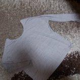 Кофточка из качественного трикотажа бежевый меланж 50 размера