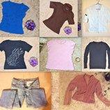 Пакет одежды женской 8 вещей размер S-M, весна-лето. Цена за всё