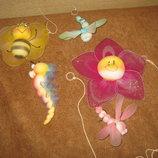 набор подвесных фигурок для детской
