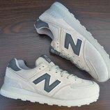 Мужские серые кроссовки New Balance 574. Indonesia. Все размеры 41-45 пока есть.