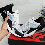 Кроссовки женские Nike Air Max 270 white/black